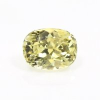 0.51ct Montana Cushion Greenish Yellow Sapphire - U10656