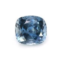 0.82ct Montana Cushion Greenish Blue Sapphire - U10675
