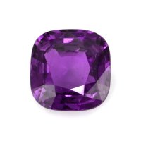 6.05ct Madagascar Cushion Purple Sapphire - U10733