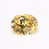 0.42ct Ceylon Oval Yellowish Brown Sapphire - U10804