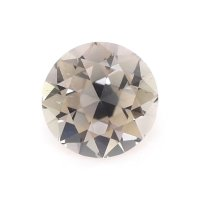 0.58ct Montana Round Greenish Brown Sapphire - U11836