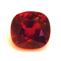1.50ct Mozambique Cushion Ruby - U12039