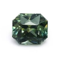 1.40ct Madagascar Radiant Yellowish Green Sapphire - U12443