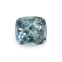 2.76ct Montana Cushion Greenish Blue Sapphire - U12584