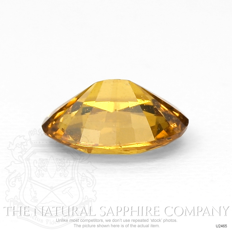 Natural Untreated Orangish Brown Sapphire U2465 Image 3