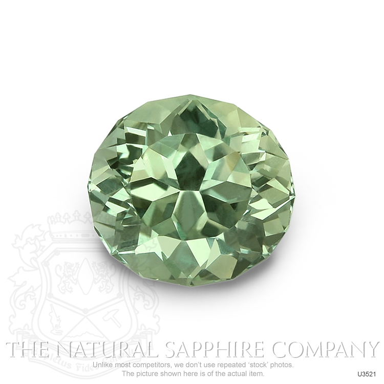 Natural Untreated Green Sapphire U3521 Image