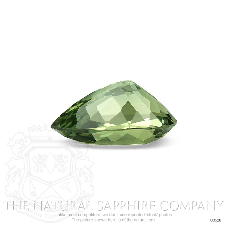Natural Untreated Green Sapphire U3528 Image 3