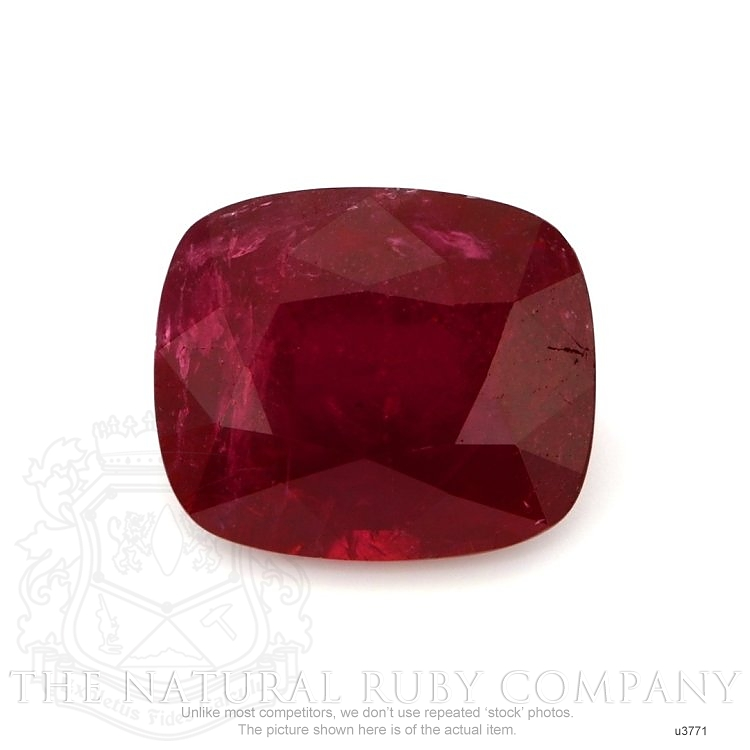 Natural Untreated Ruby U3771 Image