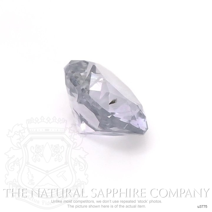 Natural Untreated Violet Sapphire U3775 Image 3