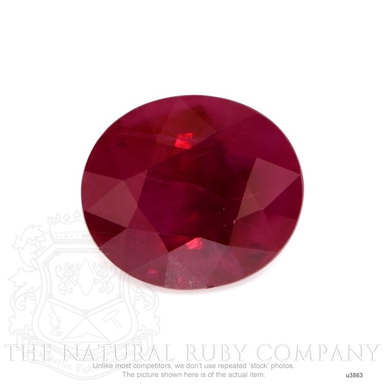 Natural Ruby U3863 Image