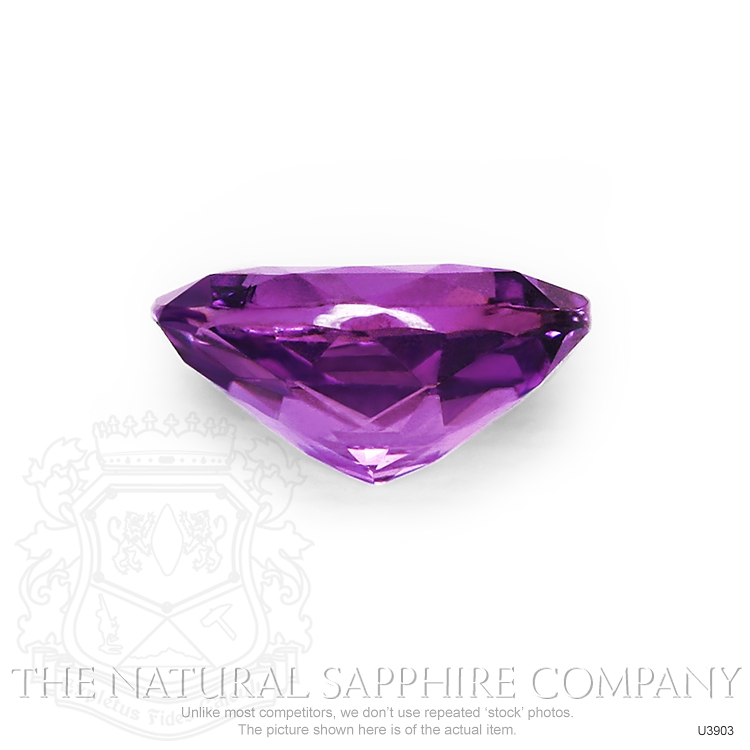 Natural Untreated Purple Sapphire U3903 Image 2