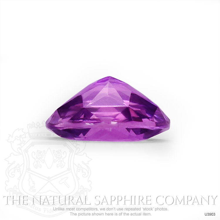 Natural Untreated Purple Sapphire U3903 Image 3