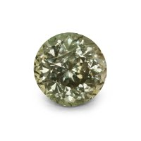 2.92ct Montana Round Greenish Brown Sapphire - U3961