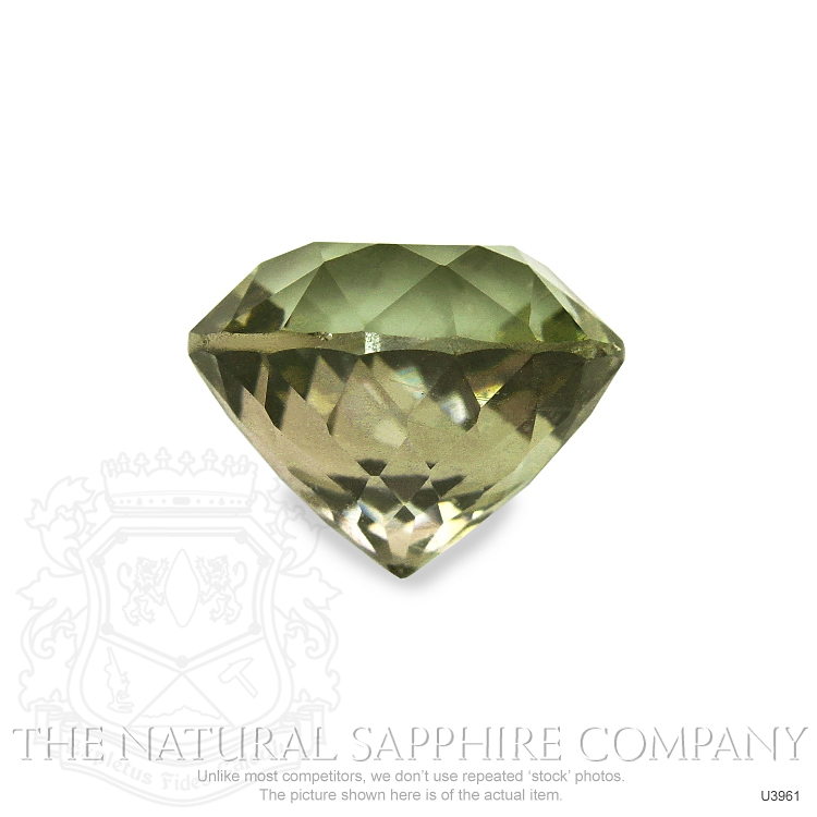 Natural Untreated Multi-Color Sapphire U3961 Image 2