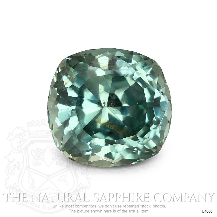 Natural Untreated Greenish Blue Sapphire U4000 Image
