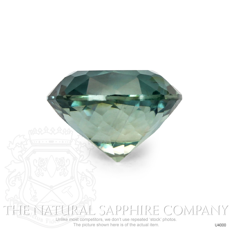 Natural Untreated Greenish Blue Sapphire U4000 Image 2