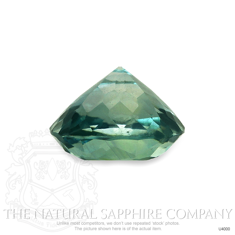 Natural Untreated Greenish Blue Sapphire U4000 Image 3