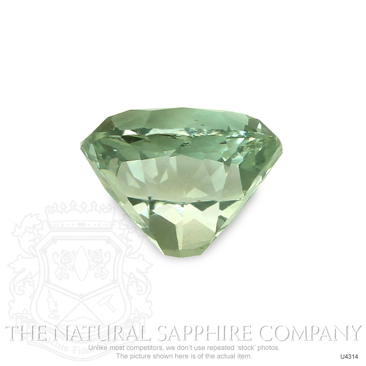 Natural Untreated Yellowish Green Sapphire U4314 Image 2