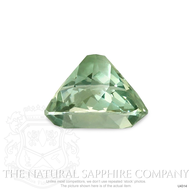Natural Untreated Yellowish Green Sapphire U4314 Image 3
