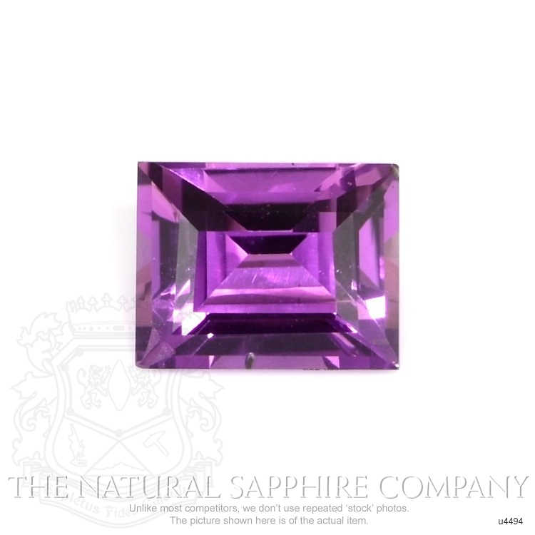 Natural Untreated Color-Change Sapphire U4494 Image