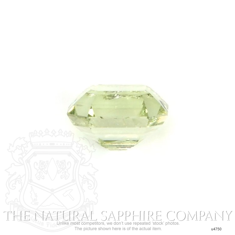 Natural Untreated Yellowish Green Sapphire U4750 Image 2