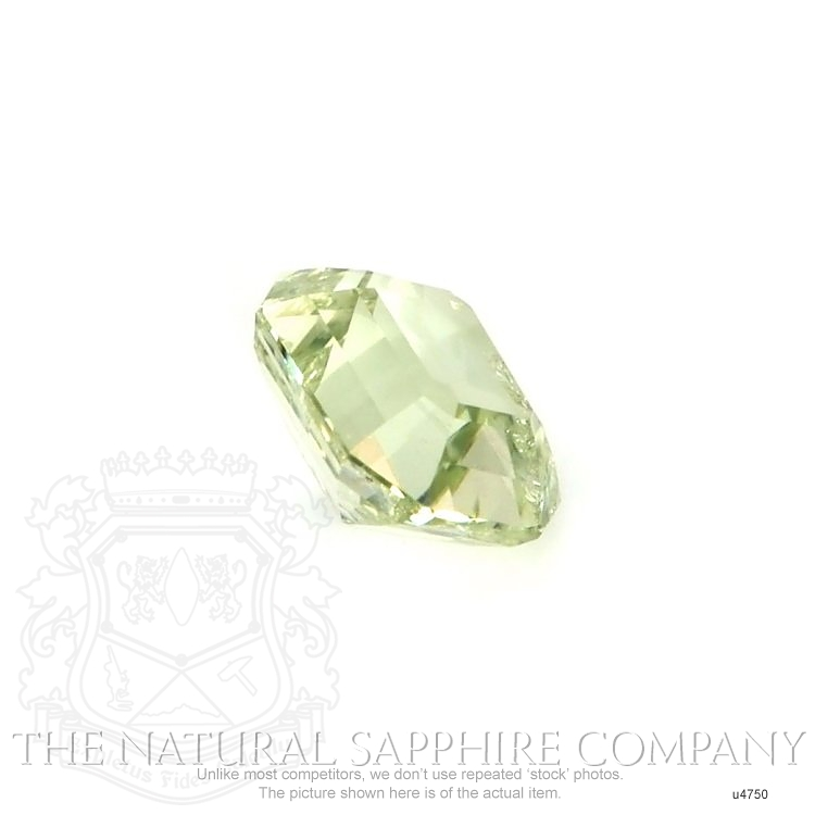 Natural Untreated Yellowish Green Sapphire U4750 Image 3