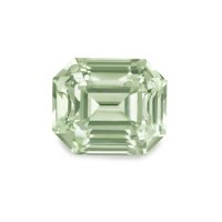 1.31ct Montana Emerald Cut Yellowish Green Sapphire - U4750