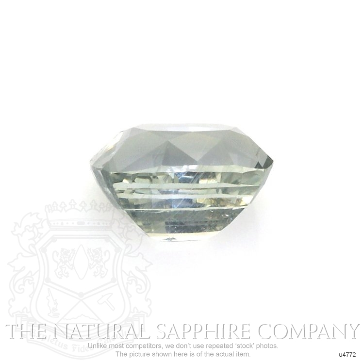 Natural Untreated Green Sapphire U4772 Image 2