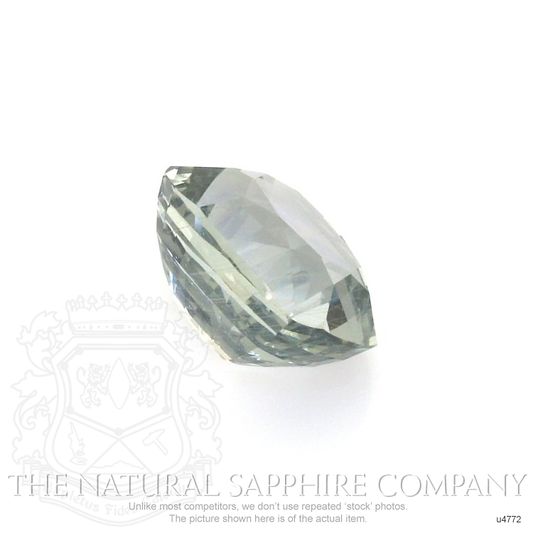 Natural Untreated Green Sapphire U4772 Image 3