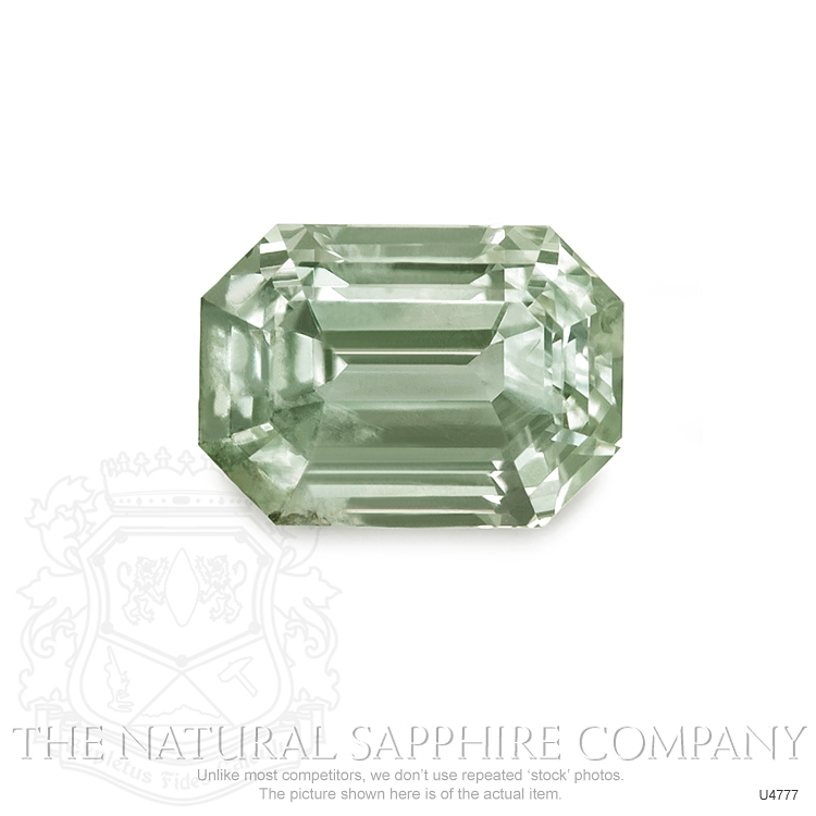 Natural Untreated Yellowish Green Sapphire U4777 Image