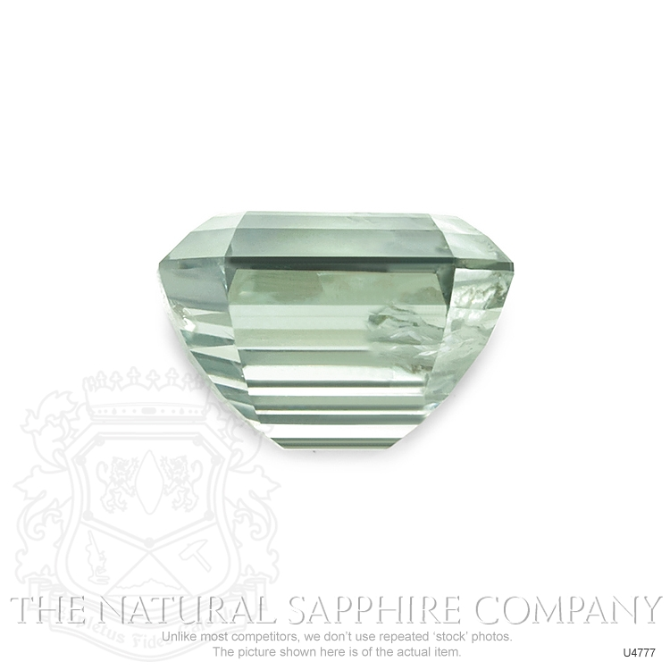 Natural Untreated Yellowish Green Sapphire U4777 Image 2