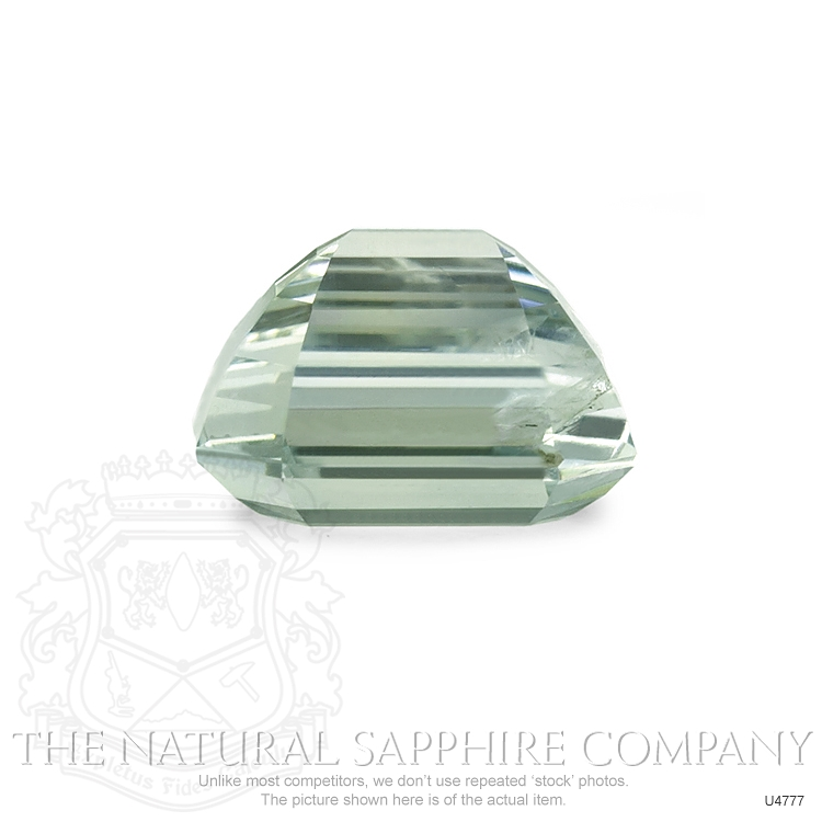 Natural Untreated Yellowish Green Sapphire U4777 Image 3