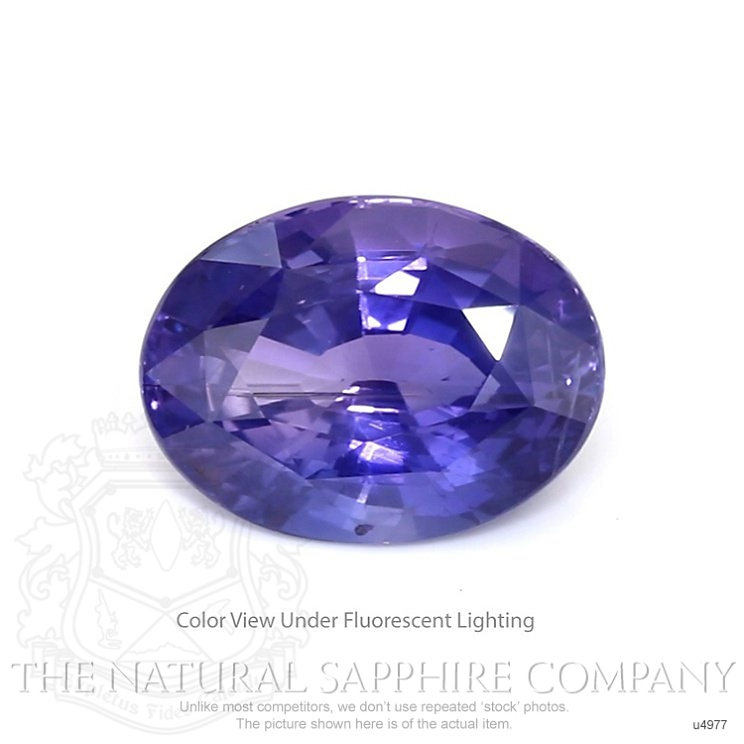 Natural Untreated Color-Change Sapphire U4977 Image
