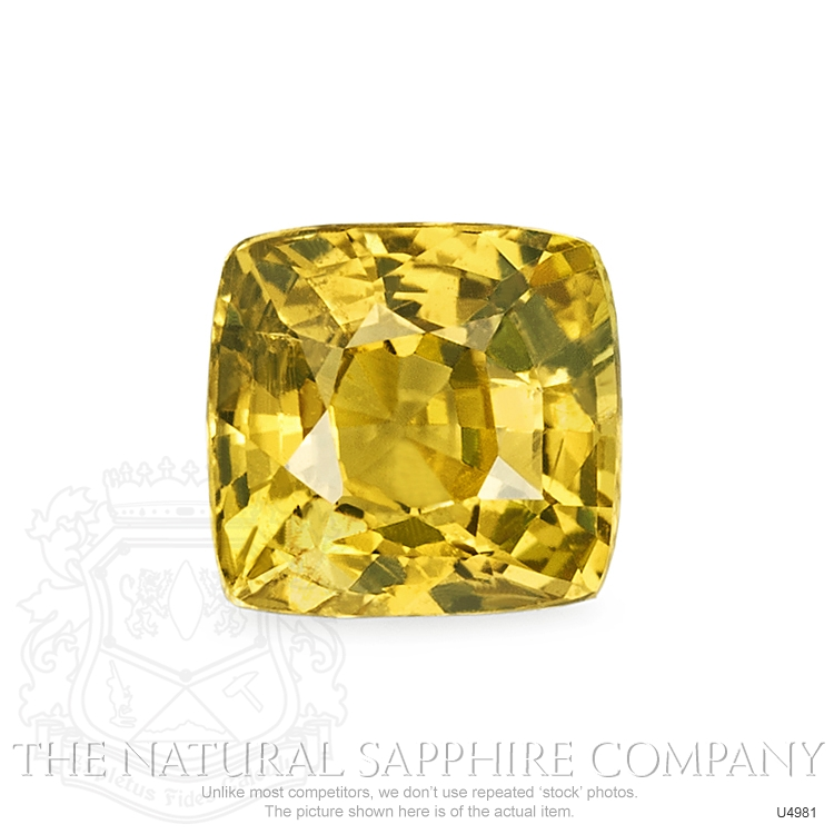 Natural Untreated Yellowish Brown Sapphire U4981 Image