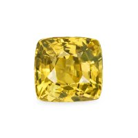 1.68ct Ceylon Cushion Yellowish Brown Sapphire - U4981