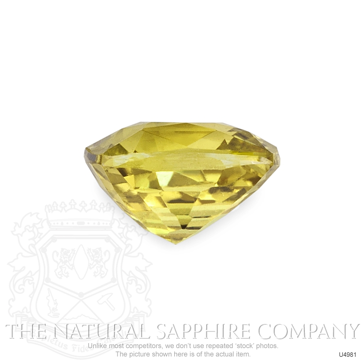 Natural Untreated Yellowish Brown Sapphire U4981 Image 2