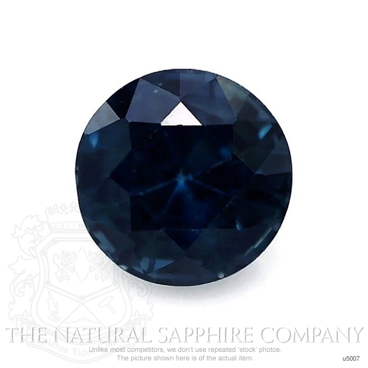 Natural Untreated Greenish Blue Sapphire U5007 Image