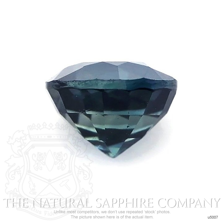 Natural Untreated Greenish Blue Sapphire U5007 Image 2