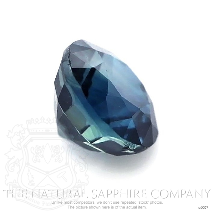 Natural Untreated Greenish Blue Sapphire U5007 Image 3