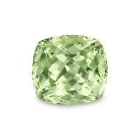 2.09ct Montana Cushion Yellowish Green Sapphire - U5088