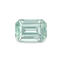 1.12ct Montana Emerald Cut Yellowish Green Sapphire - U5102