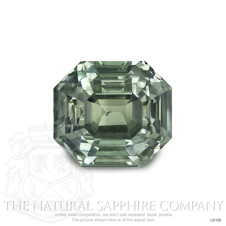 Natural Untreated Yellowish Green Sapphire U5108 Image
