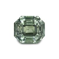 1.91ct Montana Emerald Cut Yellowish Green Sapphire - U5108