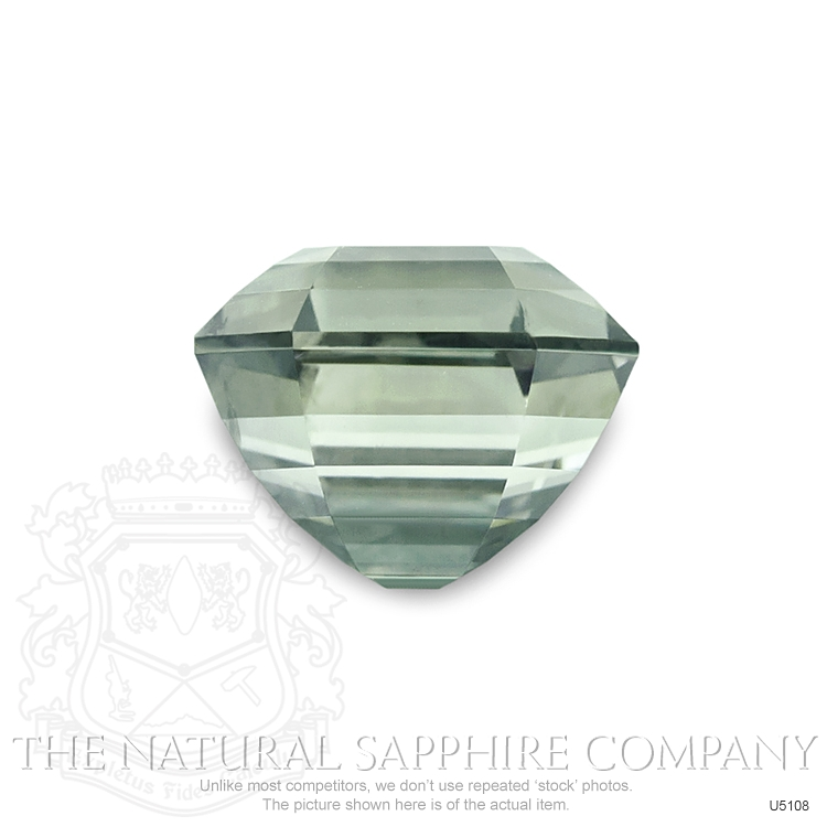 Natural Untreated Yellowish Green Sapphire U5108 Image 2