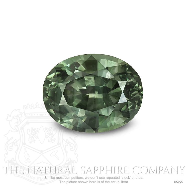 Natural Untreated Yellowish Green Sapphire U5225 Image