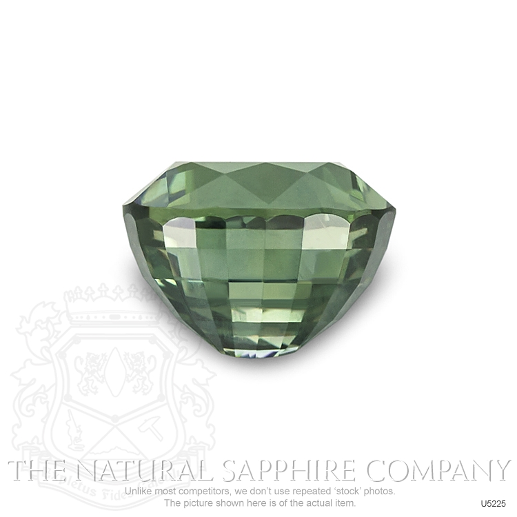 Natural Untreated Yellowish Green Sapphire U5225 Image 2