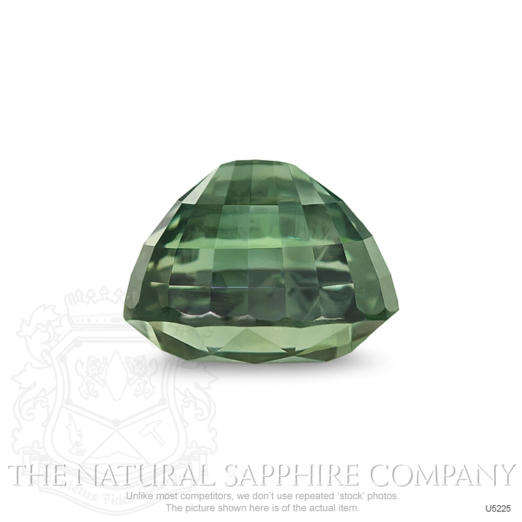 Natural Untreated Yellowish Green Sapphire U5225 Image 3