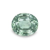 1.82ct Montana Oval Greenish Yellow Sapphire - U5233