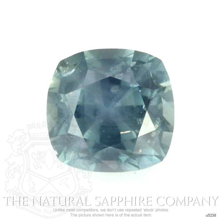 Natural Untreated Greenish Blue Sapphire U5238 Image