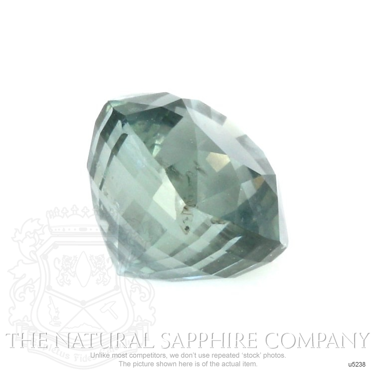Natural Untreated Greenish Blue Sapphire U5238 Image 3